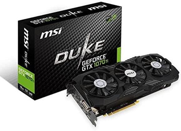 MSI Gaming GeForce GTX 1070 Ti 8GB GDRR5 256-bit HDCP Support DirectX 12 SLI