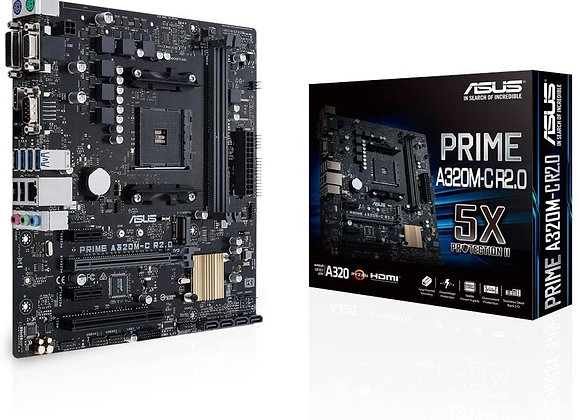 Asus Prime A320M-C R2.0 Socket AM4 AMD A320 Micro Atx Motherboard