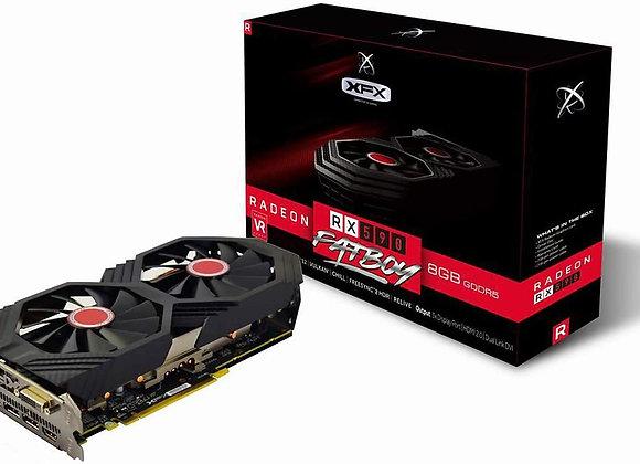 XFX RX-590P8DFD6 Radeon Rx 590 Fatboy 8GB OC+ 1580MHz DDR5 3xDP Graphic Cards