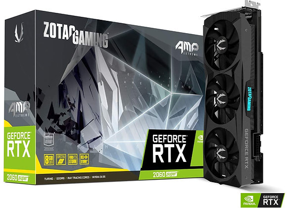 Zotac GeForce RTX 2060 SUPER AMP Extreme Overclocked Triple-Fan 8GB GDDR6