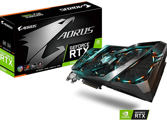 Gigabyte Aorus GeForce RTX 2080 Triple-Fan 8GB GDDR6 PCIe Graphics Card