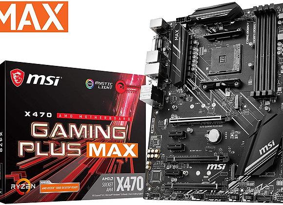 MSI X470 Gaming Plus Max AMD ATX AM4 Motherboard