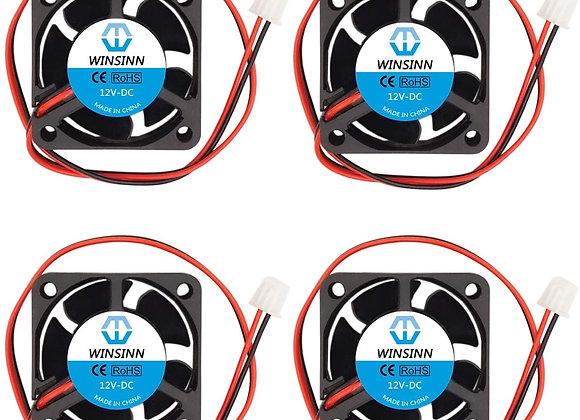WINSINN 40mm Fan 12V Brushless 4020 40x20mm for Cooling 3D Printer Extruder
