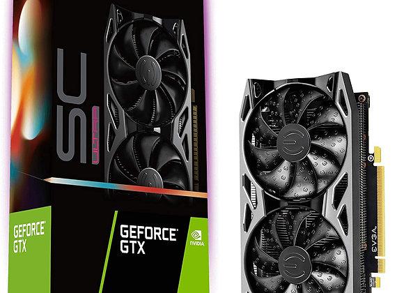 EVGA GeForce GTX 1660 Ti SC Ultra Dual-Fan 6GB GDDR6 PCIe 3.0 Graphics Card