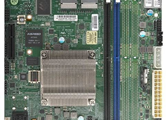Supermicro Motherboard Intel Atom mItx PCIE SATA USB Brown Box