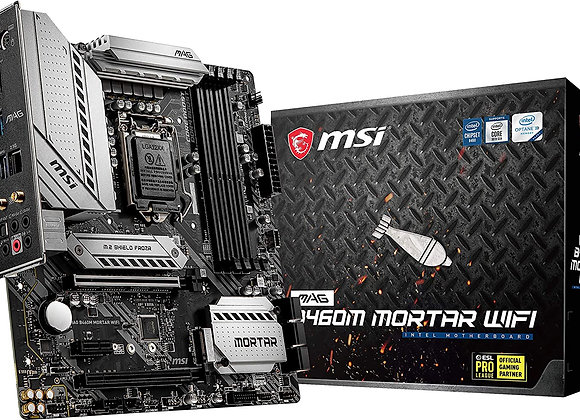 MSI MAG B460M Mortar WiFi Gaming Motherboard
