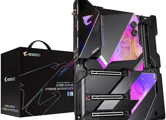 Gigabyte Z490 Aorus Xtreme Waterforce LGA 1200 Intel Z490 E-ATX Motherboard