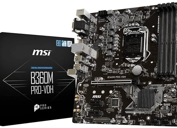 MSI Desktop Motherboard Intel Chipset Socket H4 LGA-1151