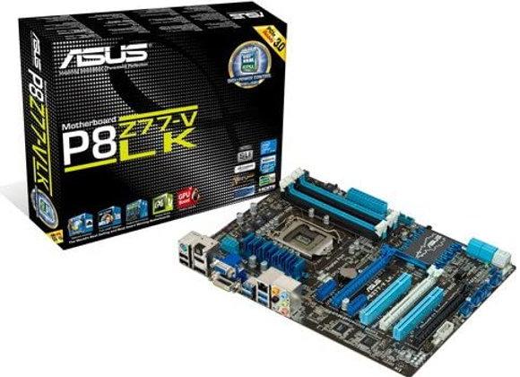 Asus P8Z77-V LK Intel Z77 DDR3 LGA 1155 Motherboard