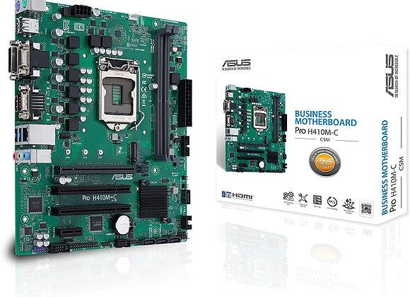 Asus Motherboard Pro LGA1200 H410 Max64GB PCI Express HDMI/DVI-D/D-Sub mAtx