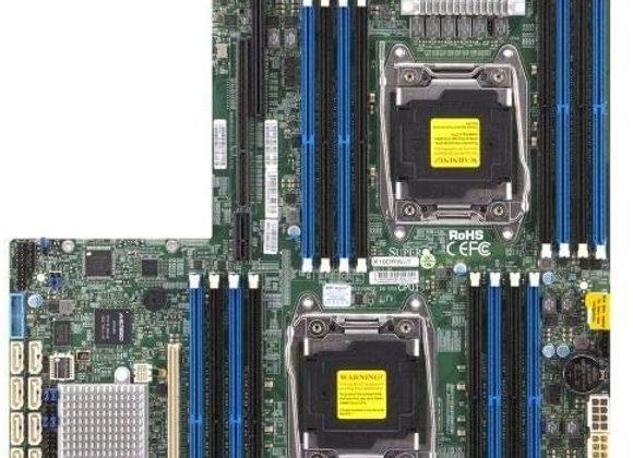 Supermicro MBD-X10DRW-IT-B E5-2600v3 LGA2011C612 DDR4 SATA Proprietary WIO Brown