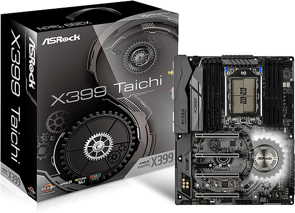 ASRock X399 Taichi sTR4 SATA 6Gb/s USB 3.1/3.0 ATX AMD Motherboard