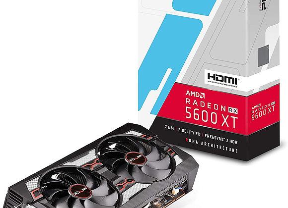 Sapphire Technology Radeon RX 5600 XT Pulse Overclocked Dual-Fan 6GB GDDR6 PCIe