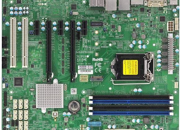 Supermicro Socket H4 E3-1200v5 Core 236 DDR4 PCI Express SATA Atx Brown box