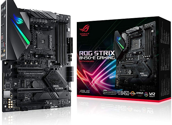 ASUS ROG Strix B450-E AMD B450 AM4 ATX DDR4-SDRAM Gaming Motherboard