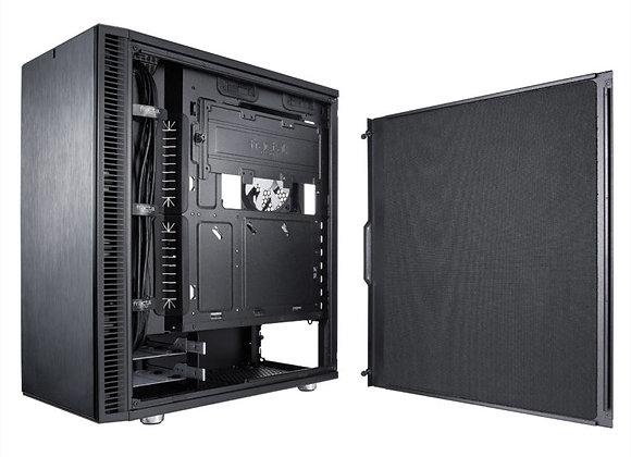 "Fractal Design Case FD-CA-DEF-C-BK-TG Define C TG 2x3.5/2.5"" Atx/mAtx/Itx"