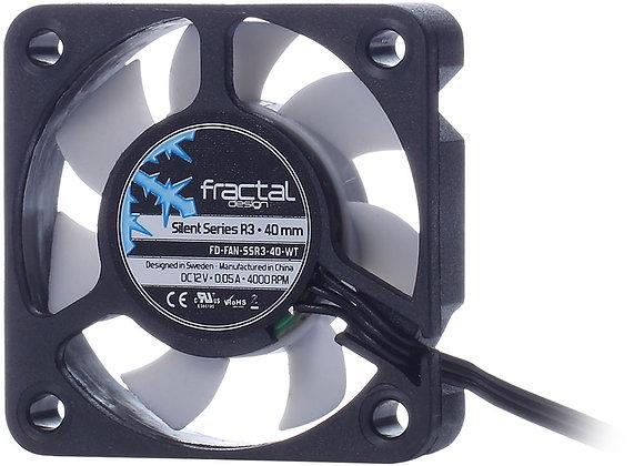Fractal Design Fan FD-FAN-SSR3-40-WT Silent Series R3 40mm