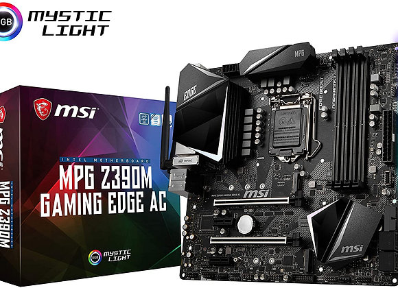 MSI MPG Z390M Gaming Edge AC LGA1151 (Intel 8th and 9th Gen) M.2 USB 3.1 Gen 2