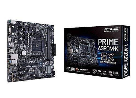 Asus A320M-K Prime AMD AM4 mAtx Motherboard
