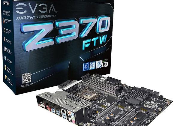 EVGA Z370 FTW, LGA 1151, Intel Z370, HDMI, SATA 6Gb/s, USB 3.1, USB 3.0, ATX