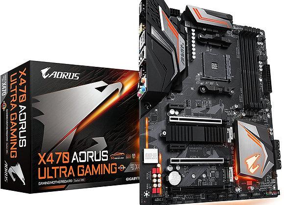 Gigabyte X470 Aorus Ultra Gaming, AMD Ryzen AM4/ ATX/ DDR4/ Motherboard