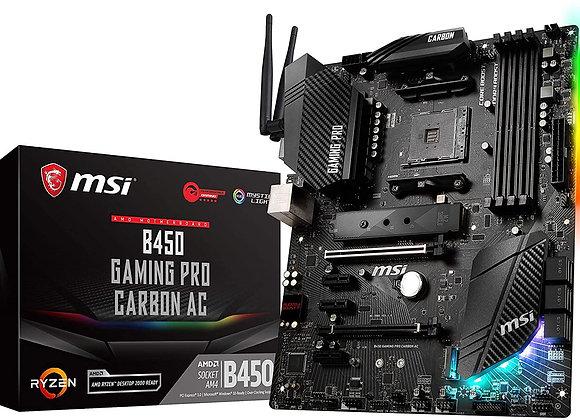 MSI B450 Gaming Pro Carbon AC AMD AM4 ATX Motherboard