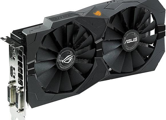 Asus ROG Strix Radeon Rx470 4GB OC Edition AMD Graphics Card with DP1.4 HDMI 2.0
