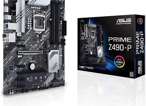 Asus Z490 Prime Intel LGA 1200 Atx Motherboard