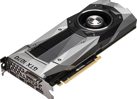 NVIDIA - GeForce GTX 1070 Founders Edition 8GB GDDR5 PCI 3.0 Graphics Card Black
