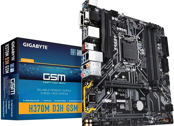 Gigabyte H370M D3H GSM, LGA1151/Intel/Micro Atx/Hybrid Digital Motherboard