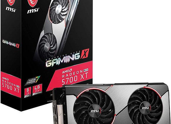 MSI Radeon RX 5700 XT Gaming X Dual-Fan 8GB GDDR6 PCIe 4.0 Graphics Card