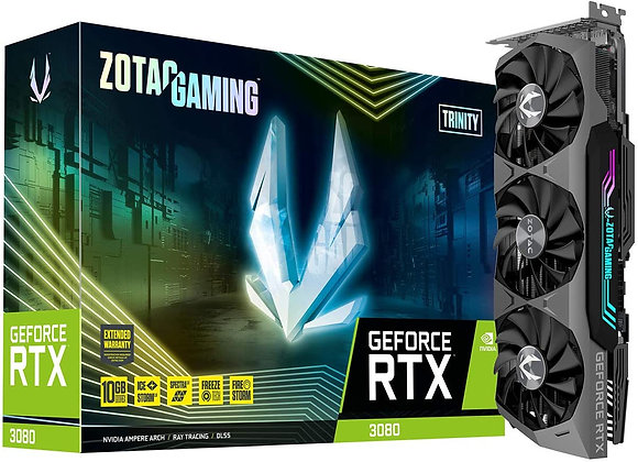 ZOTAC Gaming GeForce RTX 3090 Trinity 24GB GDDR6X 384bit 19.5 Gbps Graphics Card