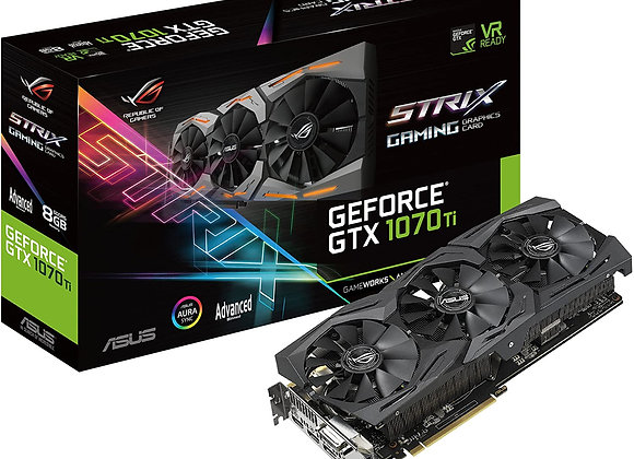 ASUS ROG Strix GeForce GTX 1070 Ti 8GB GDDR5 Advanced Edition VR Ready DP HDMI