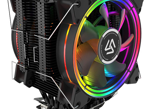 ALSEYE CPU Cooler,120mm CPU Fans with 6 Heatpipes 4 Pin RGB Heatsink