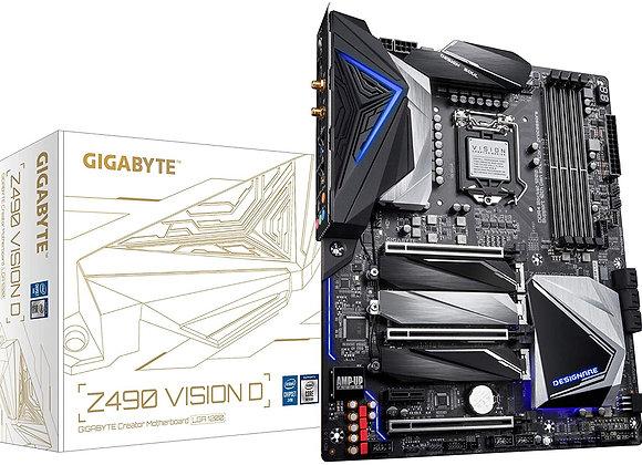 Gigabyte Z490 Vision D Intel LGA 1200 ATX Motherboard