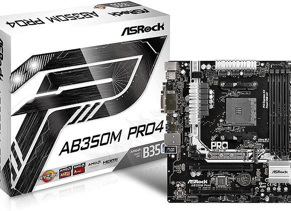ASRock AB350M Pro4 MicroATX Motherboard