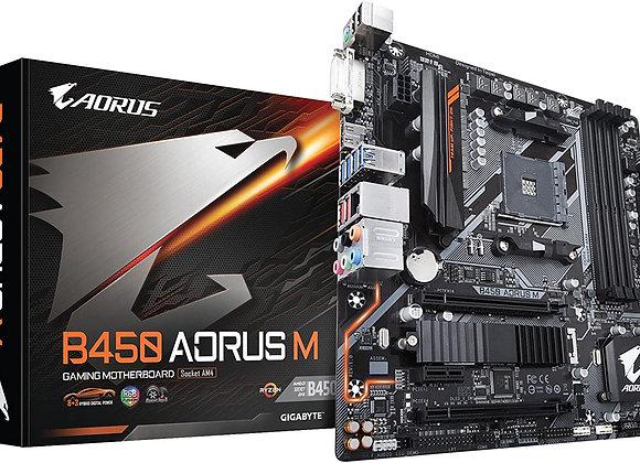 Gigabyte B450 Aorus M AMD AM4 mATX Motherboard