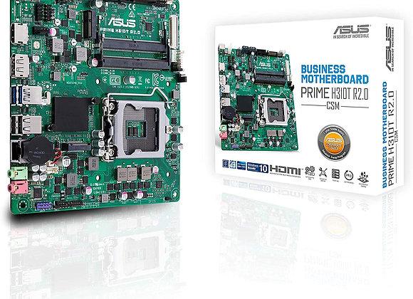 ASUS LGA1151 (300 Series) DDR4 M.2 DP HDMI LVDS Thin mITX Prime H310T R2.0/CSM
