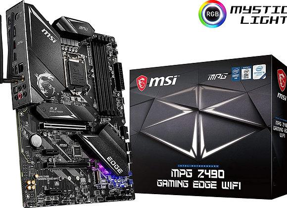 MSI Z490 MPG Gaming Edge WiFi Intel LGA 1200 ATX Motherboard
