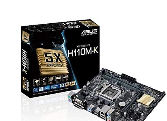 Asus Micro ATX DDR4 LGA 1151 Motherboard H110M-K