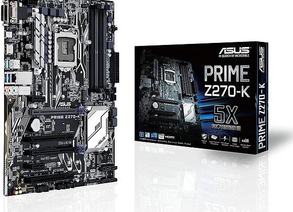 Asus Prime Z270-K LGA1151 DDR4 HDMI DVI Vga M.2 Z270 Atx Motherboard