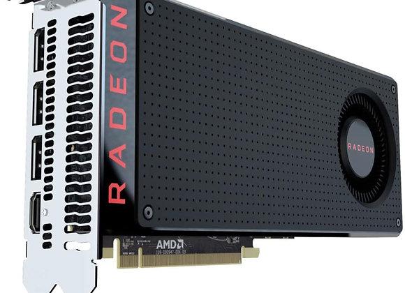 AMD Radeon RX 580 8GB GDDR5 PCI Express 3.0 Gaming Graphics Card - OEM