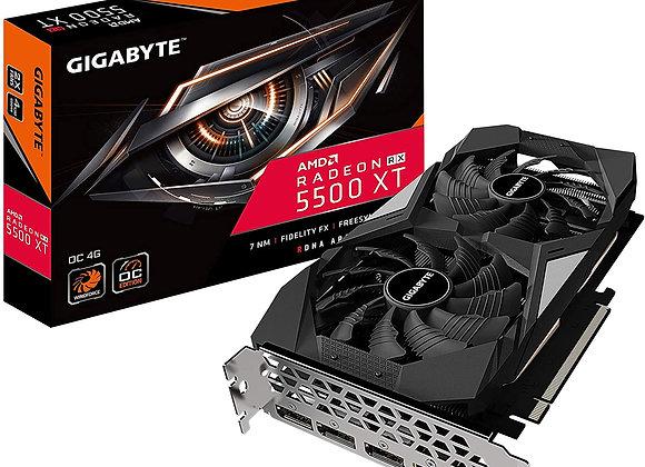 Gigabyte Radeon RX 5500 XT Overclocked Dual-Fan 4GB GDDR6 PCIe 4.0 Graphics Card