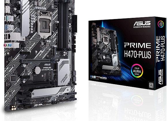 Asus Prime H470-Plus/CSM LGA1200 (Intel 10th Gen) Atx Commercial Motherboard