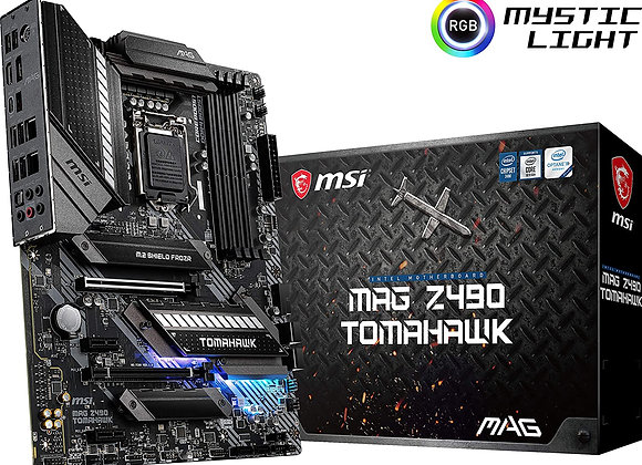 MSI Z490 MAG Tomahawk Intel LGA 1200 ATX Motherboard