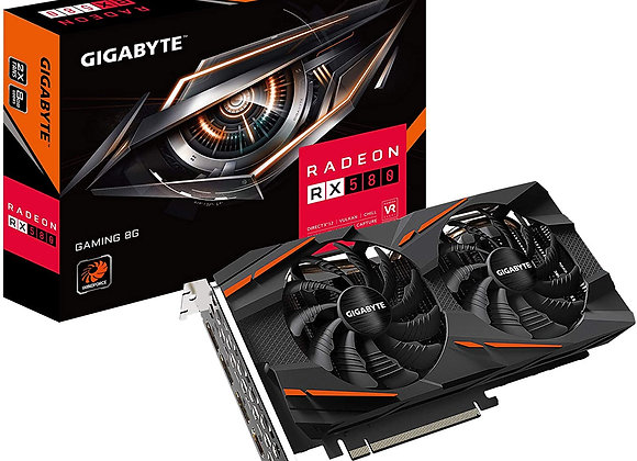 Gigabyte Radeon RX 580 Overclocked Dual-Fan 8GB GDDR5 PCIe 3.0 Graphics Card