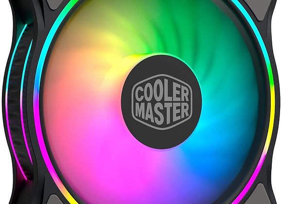 Cooler Master MasterFan MF120 Halo Duo-Ring Addressable RGB Lighting 120mm Fan