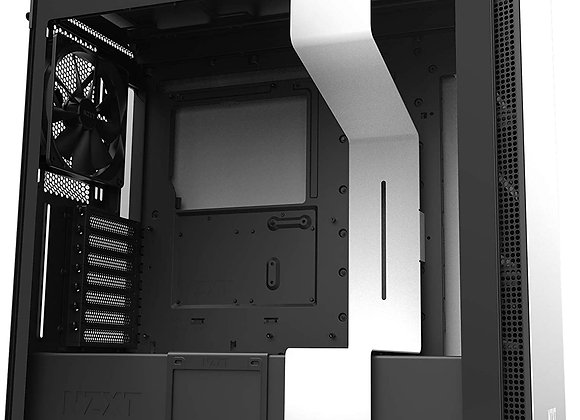 NZXT H710 - CA-H710B-W1 - ATX Mid Tower PC Gaming Case - Front I/O USB Type-C