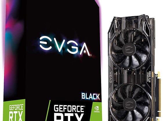 EVGA 08G-P4-2081-KR GeForce RTX 2080 Gaming 8GB GDDR6 Dual HDB Black Edition