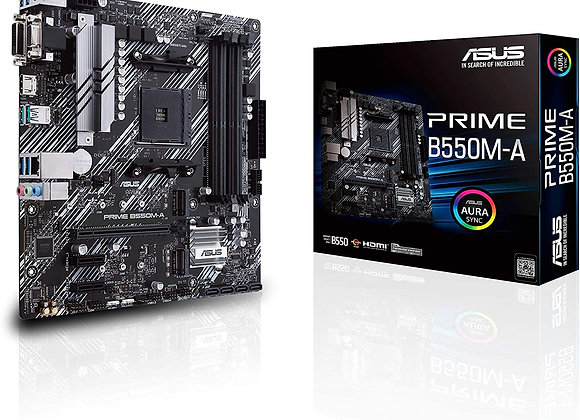 ASUS B550M-A Prime AMD AM4 mATX Motherboard